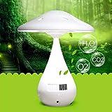 USB LED recargable Ojos protectores lámpara de escritorio, Stepless de Atenuación purificador de aire hongo de la tabla de las luces for la decoración casera - blanco
