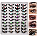 False Eyelashes Faux Mink 20 Pairs 5 Styles Natural Lashes Wispy Fluffy 3D Volume Fake Lashes Pack by HeyAlice