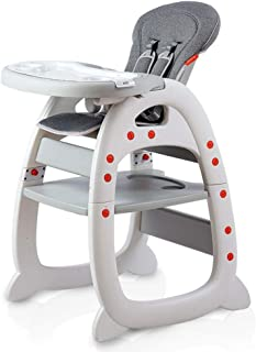 Multifunctional Adjustable Baby High Chair 3in1 Compact Infant Feeding Seat Also Chair Table For Toddler High Seat For Inf...
