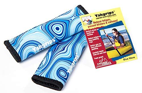 Yakgrips Takeapart Kayak Paddle Grips, No-Slip, Prevents Blisters  - Cascade Creek
