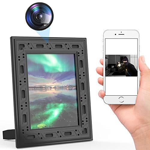 Hidden Camera Photo Frame,FUVISION Spy Camera Wireless...