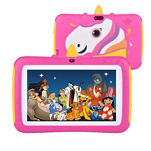 Tablet for Kids,7 inch Kids Tablet Android 9.0 Edition Tablet with WiFi and Bluetooth,GMS Certified, 2GB+16GB Tablet for Kids,Children Tablet with Parental Control
