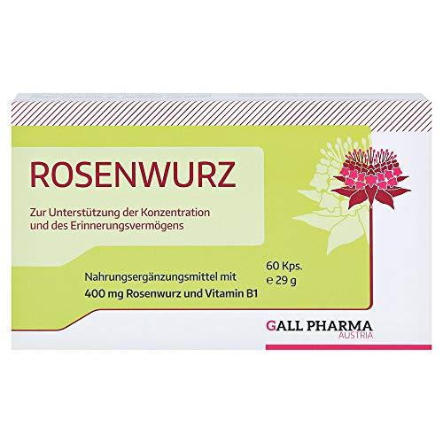 GALL PHARMA Rosenwurz 400 mg GPH Kapseln, 60 St. Kapseln