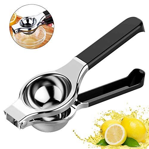 Zitronenpresse, Zitronenpresse Manuelle, Edelstahl Handpresse Limettenpresse für Zitrusfrucht, Hohe Festigkeit, Anti-Ätzmittel und Spülmaschinenfest