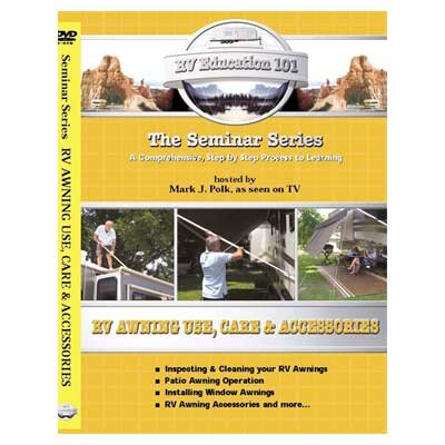 RV Education 101: RV Awning Use, Care, & Accessories (DVD) by