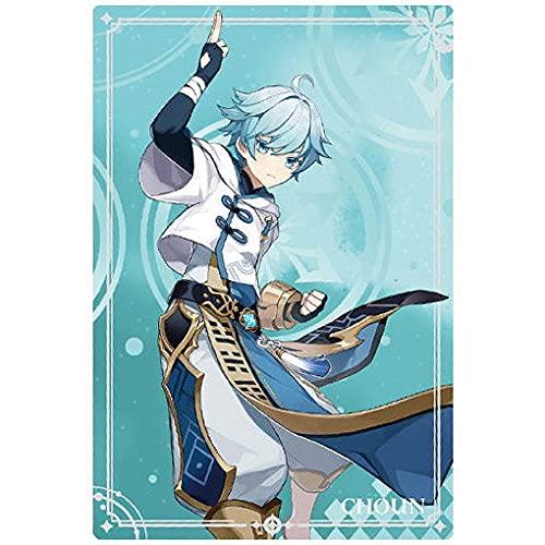 原神[Genshin] ウエハース [15.重雲 (N)](単品)※カードのみです。お菓子は付属しません。