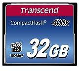 Transcend 32GB CompactFlash Memory Card 400x (TS32GCF400)...