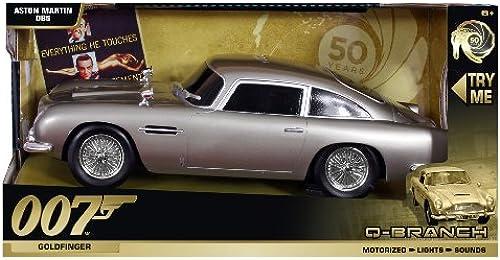Q Branch James Bond Fahrzeuge mit Licht Sound und Fahrfunktion DB5 Aston Martin V12 Vanquish Goldfinger