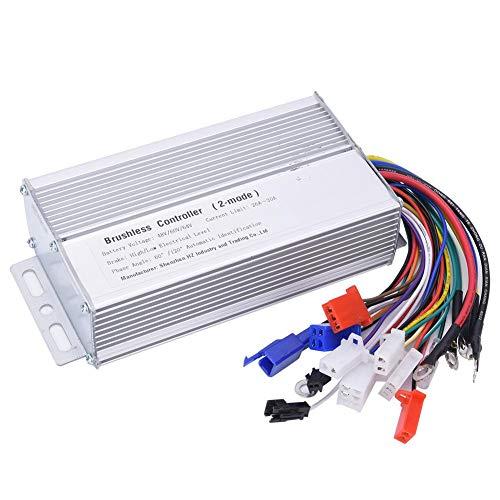 Rodipu 48V 60V 64V 7x3.3x1.6 Pulgadas 1000W-1500W Controlador de Motor Controlador de...