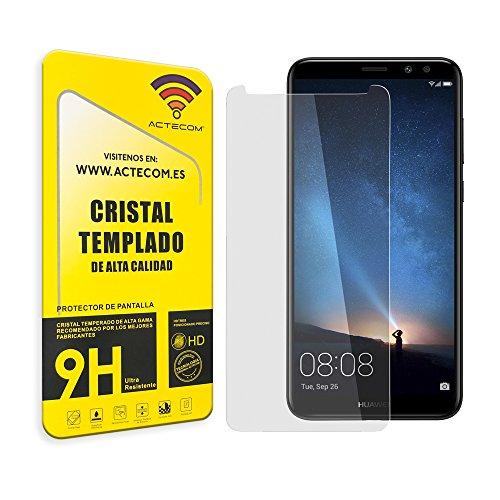 actecom¨ Cristal Templado Protector Pantalla 0.2MM para Huawei Mate 10 Lite