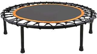 Trampoline Trampoline - Orange Children's Silent Bounce Bed For Adult Aerobic Fitness Trampoline For Springless Trampoline...