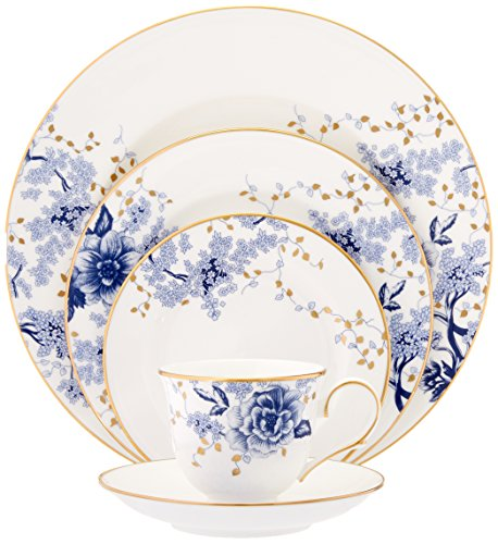 Lenox Garden Grove 5-Piece Place Setting, White -