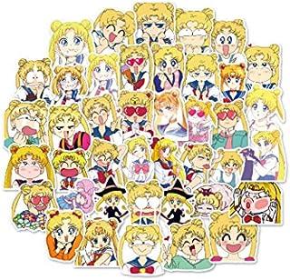 40 Piezas/Paquete Kawaii Sailor Moon Cartoon Bullet Journal Adhesivo Pegatinas DIY Decoración Diario Papelería Pegatinas Regalo de los niños: Amazon.es: Coche y moto