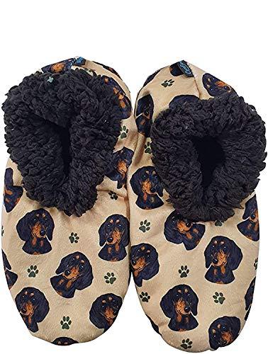 Comfies Womens Dachshund Dog Slippers #8