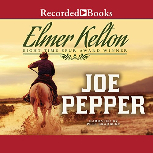 Joe Pepper audiobook cover art