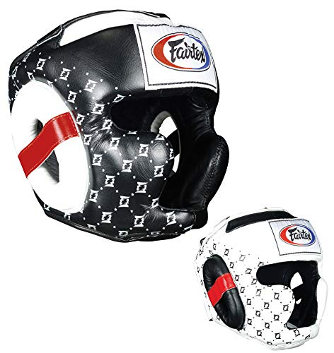 Fairtex Super Sparring Headguard, Black, Medium