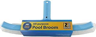 Pool Brush Aussie Gold 45cm Curved Pool Wall Brush Broom - 2 Year Warranty