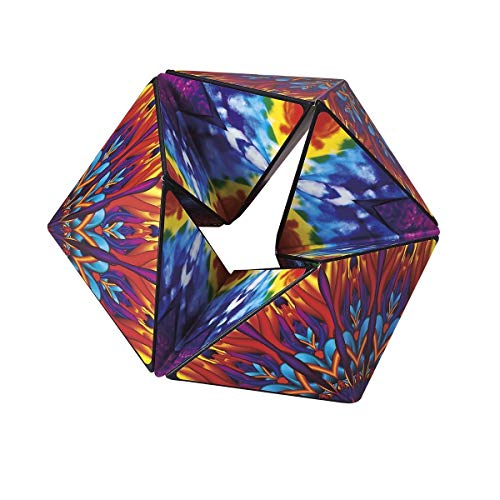 """Karmagami """"Boho"""" Sensory Toy for Kids - Kaleidocycle Fidget Toy for Adults to Stay Calm & Focused - Tear-Resistant Desk Manipulative Puzzle Gadget (Ages 4+)"""