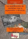 La modificación de medidas tras la separación o divorcio