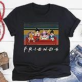 Friends Lovers Vintage T Shirt Goku and Friends T Shirt