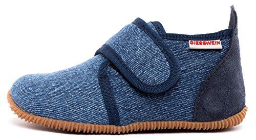 GIESSWEIN Unisex Kinder Strass - Slim Fit Hausschuhe, Jeans, 29 EU