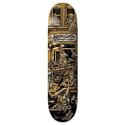 Element Timber Remains Rat Skateboard Deck 8.25 inch Multicolour
