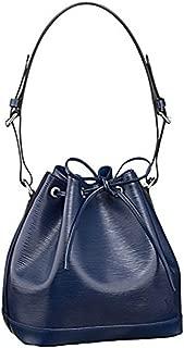 Louis Orwell Epi Leather Petit Noé NM Shoulder Bag Handbag Indigo Article: M40675