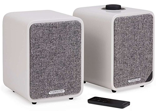 ruarkaudio MR1 MKII aktive Bluetooth-Lautsprecher, Paar, matt grau (soft grey)