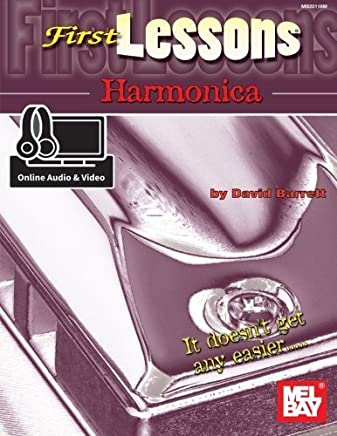 First Lessons Harmonica by David Barrett (2015-05-11)