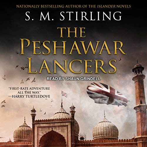 The Peshawar Lancers audiobook cover art