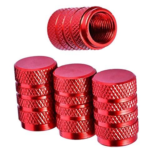 Reifen Stamm Ventil Kappen Aluminium - Staubdicht Kappe Reifen Radschaft 8 Stück