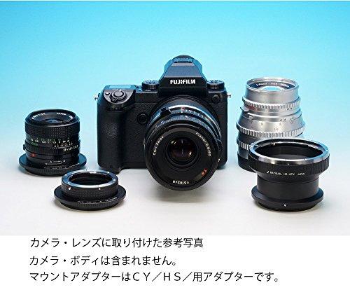 レイクォール マウントアダプター PK-GFX (レンズ) ペンタックスK (カメラ) フジGFX ブラック (日本製)