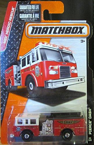Matchbox, 2015 MBX Heroic Rescue, Pierce Dash #62/120