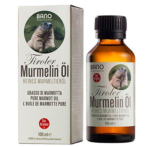 BANO Tiroler Murmelin® Öl, reines Murmeltieröl, 100ml