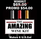 Cabernet Sauvignon style Amazing Wine kit -makes 6.U.S.Gal