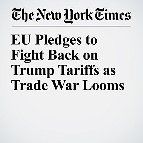 EU Pledges to Fight Back on Trump Tariffs as Trade War Looms copertina