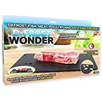 As Seen On TV D-Frost Wonder Quick Defrosting Tray