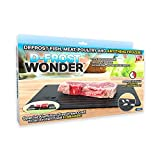 As Seen On TV, Black Wonder Quick Defrosting Tray, Large