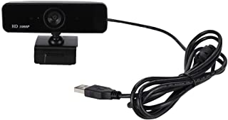 Webcam, HXSJ S1 HD Webcam Autofocus Web Camera 1080P with Built-in Microphone for Computer PC