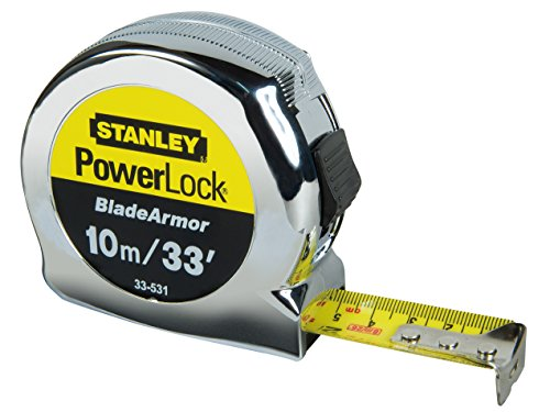 STANLEY Powerlock Tape with Blade Armor, 10m 30ft