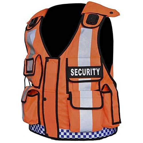 Nuevo chaleco táctico Hi Viz Manipulador de perro Seguridad, CCTV, Cumplimiento, Tac Chaleco (portero)