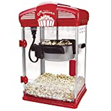 West Bend Hot Oil Theater Style Popcorn Popper Machine with Nonstick Kettle Includes Measuring Tool...