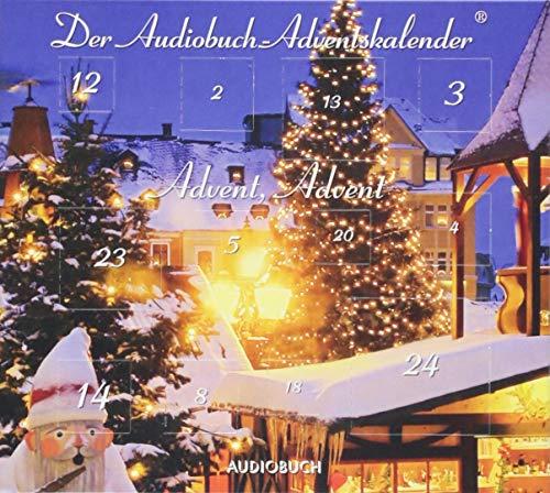 Advent, Advent - Der Audiobuch-Adventskalender (1 Audio-CD im Digipak mit 24 Türchen)