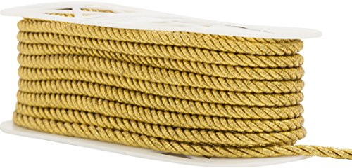 Wright Products Simplicity Large Metallic Twisted Cord 1/4
