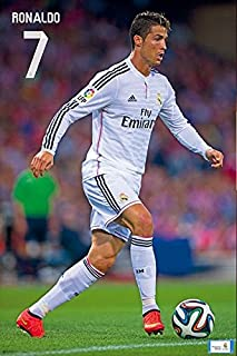 Póster Cristiano Ronaldo 61x91,5cm Producto Oficial