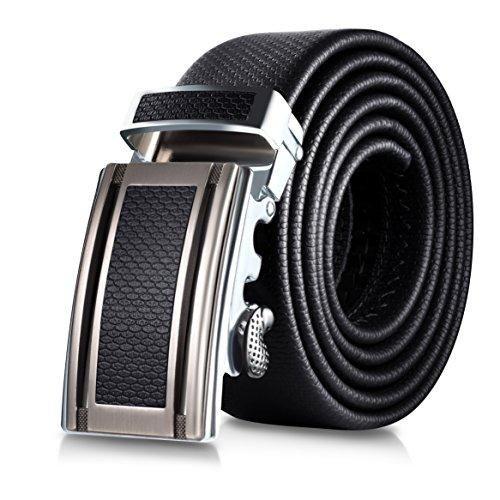 Mio Marino Classic Ratchet Belt - Premium Leather - 1.38...