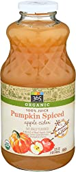 365 Everyday Value, Organic Apple Cider, Pumpkin Spiced, 32 fl oz