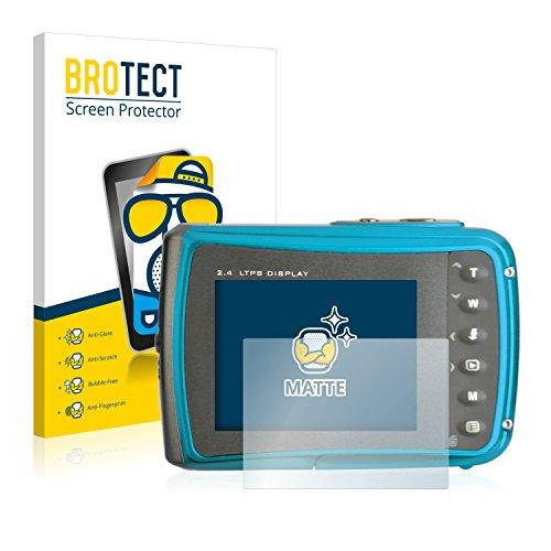BROTECT 2X Entspiegelungs-Schutzfolie kompatibel mit easypix Aquapix W1024 Splash Displayschutz-Folie Matt, Anti-Reflex, Anti-Fingerprint
