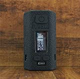 ModShield for Uwell Valyrian II 2 300W Silicone Case ByJojo Protective Cover Shield Skin Wrap (Black)