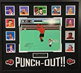 Mike Tyson Iron Mike Signed Autograph Custom Framed Boxing Punch Out Nintendo NES Suede Matted 34x38 JSA Witnessed Certified